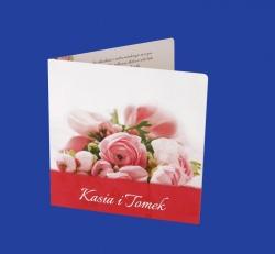 Zaproszenia - Ślubne - Natural  Art - Kwiaty 03
