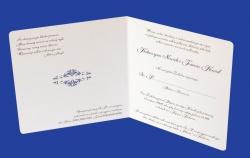 Zaproszenia - Ślubne - Natural  Art - Ornamenty 02