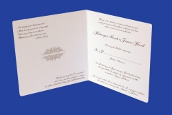 Zaproszenia - Ślubne - Natural  Art - Ornamenty 03