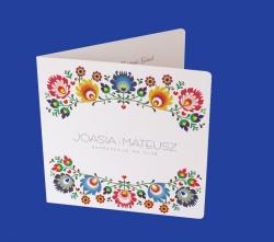 Zaproszenia - Ślubne - Natural  Art - Ornamenty 04