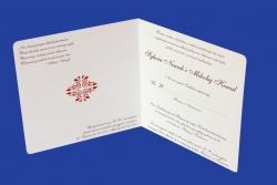 Zaproszenia - Ślubne - Natural  Art - Ornamenty 06
