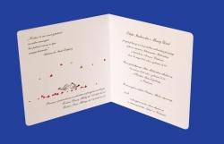 Zaproszenia - Ślubne - Natural  Art - Ptaki 05