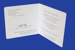 Zaproszenia - Ślubne - Natural  Art - Serca 02