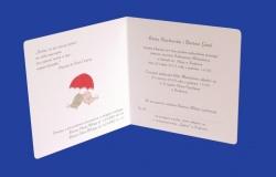 Zaproszenia - Ślubne - Natural  Art - Ptaki 06