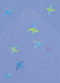 Papeterie - Z nadrukiem - Z ptakami