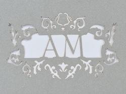 Zaproszenia - Ślubne - Laser Pro - Zaproszenie Alicjus 09a