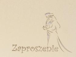 Zaproszenia - Ślubne - Laser Pro - Zaproszenie Carolus 19