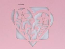 Zaproszenia - Ślubne - Laser Oryginal - Zaproszenie Magdus 06