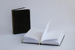 Notesy - Ekskluzywne - Notes w oprawie z aksamitu