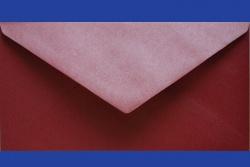 Koperty - 8x16 cm - do zaproszeń - Koperta 8x16 GX Red love
