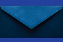 Koperty - 8x16 cm - do zaproszeń - Koperta 8 x16 cm,  GX Ocean Blue