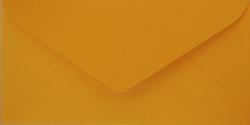 Koperty - 8x16 cm - do zaproszeń - Koperty do zaproszeń żołta nr 10