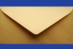 Koperty - 8x16 cm - do zaproszeń - Koperty do zaproszeń SD gold (złota)