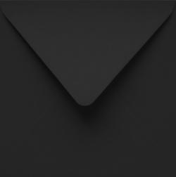 Koperty - 14,6x14,6 cm - Koperta 14,6 x 14,6 czarna