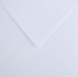 Koperty - 14,6x14,6 cm - Koperta biała