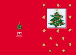 """Kartki - Świąteczne - Karnet świąteczny """"Choinka"""""""
