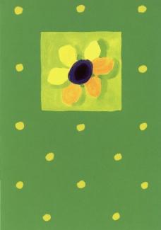 Kartki - Inne - Karnet 001 zielony