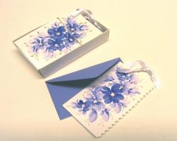 """Kartki - Karneciki z kopertą - Karnety z kopertą  """"Ekskluzywne"""" wykonane ręcznie"""