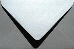 Koperty - B6 - Koperta B6 Srebrna