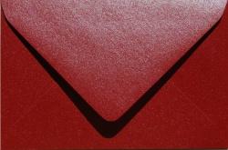 Koperty - B6 - Koperta B6 110 g Red Love (ciemno czerwona)