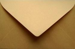 Koperty - 9x14 cm-do zaproszeń - koperta 9x14  do zaproszeń złota