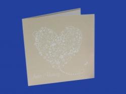 Zaproszenia - Ślubne - White Art - White Art 02