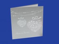 Zaproszenia - Ślubne - White Art - White Art 03