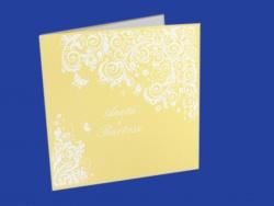 Zaproszenia - Ślubne - White Art - White Art 08